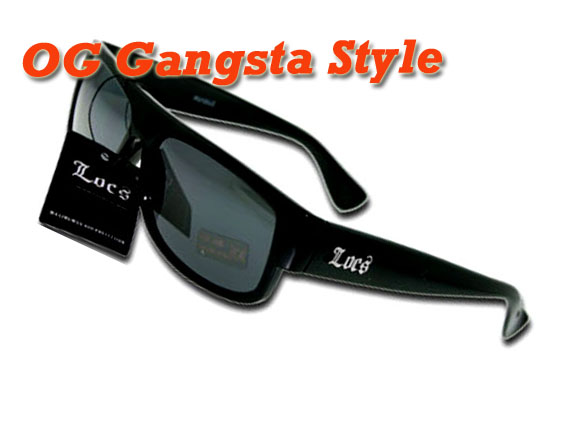 594df5a38a Gangster style locs sunglasses